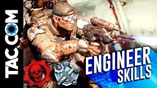 Gears 4 Horde Guides: Engineer Skill Cards