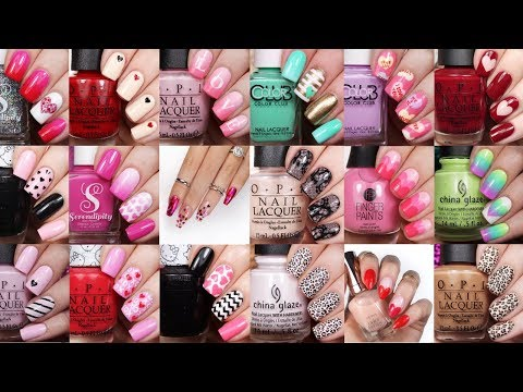Best Valentine's Nail Art Ideas | 20 Valentine, Heart, & Lace Nail Compilation by NAILSBYCAMBRIA