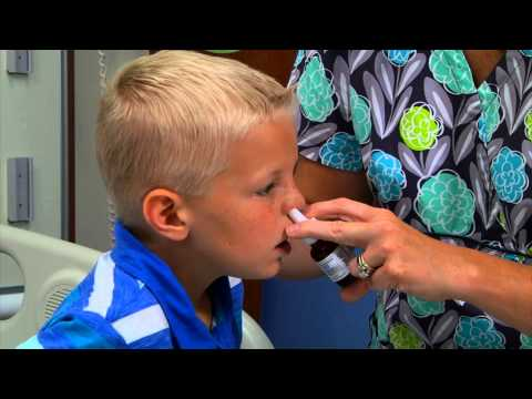 Helping Your Child Use Nasal Spray