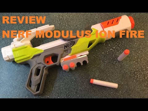 The Nerf Modulus Ion Fire - MINE BARELY WORKS (First Impression Review)