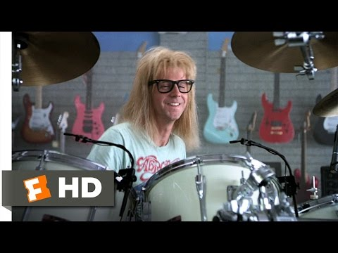 Wayne's World (5/10) Movie CLIP - Garth Likes to Play (1992) HD
