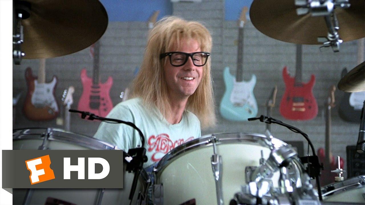 Download Wayne's World (5/10) Movie CLIP - Garth Likes to Play (1992) HD