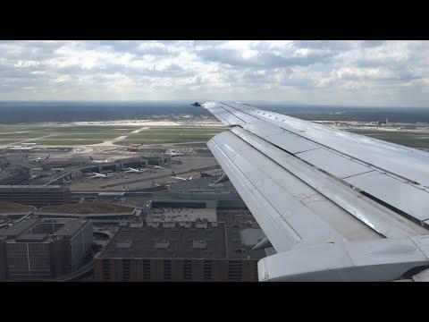 [Full flight] Hannover - Frankfurt - Katowice | Lufthansa B737-300