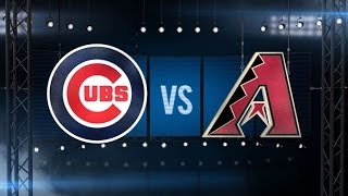 4/7/16: Rizzo, Cubs power past the D-backs, 14-6