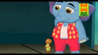 Elephant With Ant In Bus Stop Malayalam Comedy Animation (ആനയും ഉറുബും Vol.3)