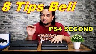 TIPS BELI PS4 SECOND