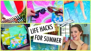 Summer Life Hacks EVERY Girl Should Know!