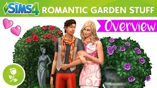 The Sims 4 | Romantic Garden Stuff | Overview