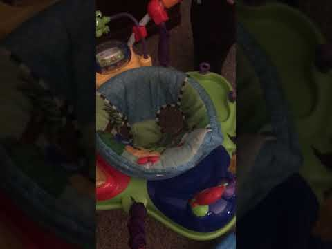 2e601adec225 Baby Einstein Jumper seat cover removal - YouTube