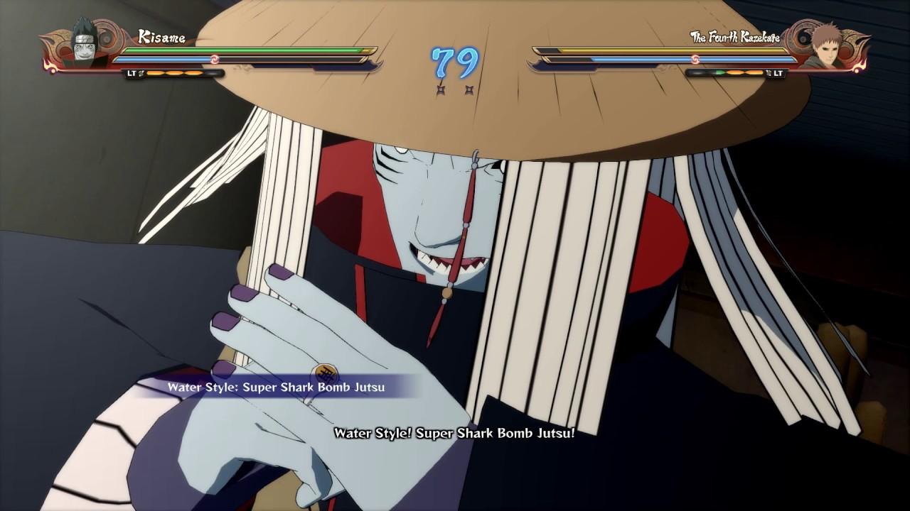 Naruto Shippuden Ultimate Ninja Storm 4 Kisame Hoshigaki With Hat Gameplay Pc 1080p Hd Youtube
