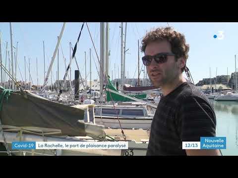 Coronavirus - Interdiction de naviguer à La Rochelle
