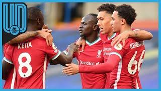 Mané, delantero de Liverpool, convirtió 2 goles, pateó 3 veces al arco ante Chelsea y dio 35 pases correctos