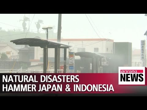 Natural Disasters Hit Indonesia And Japan, Leaving Hundreds Dead