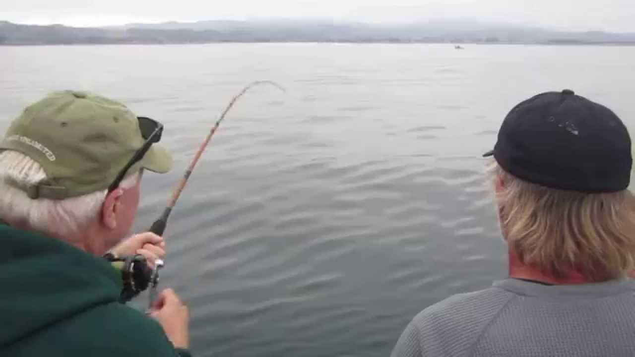 Half moon bay salmon part 2 youtube for Half moon bay fishing report