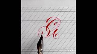 Каллиграфия. Мелодия букв...