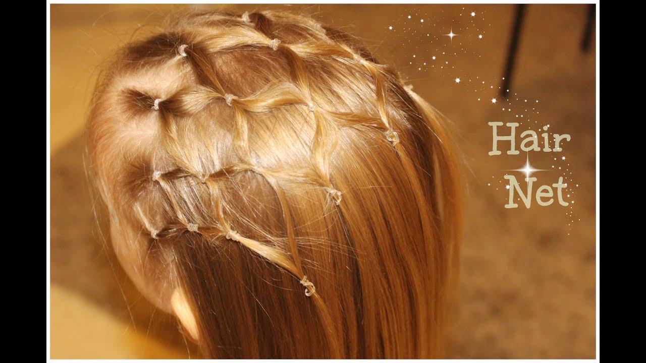 hair net tutorial#easy & cute hairstyle for a princess - youtube