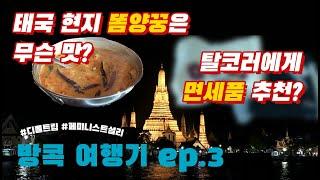 [Vlog] 태국 방콕 여행기 ep.3 / 룸피니 공원…