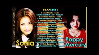 Sonia & Poppy Mercury - Penyanyi Wanita Indonesia Yang Pernah Menguasai Musik Malaysia