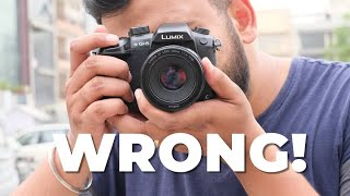 7 Things You Are Doing Wrong on Your DSLR!