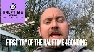 Trying halftime 4bonding by Eazymix plastering Timelapse review