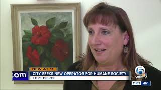 City of Fort Pierce seeks new operator for humane society