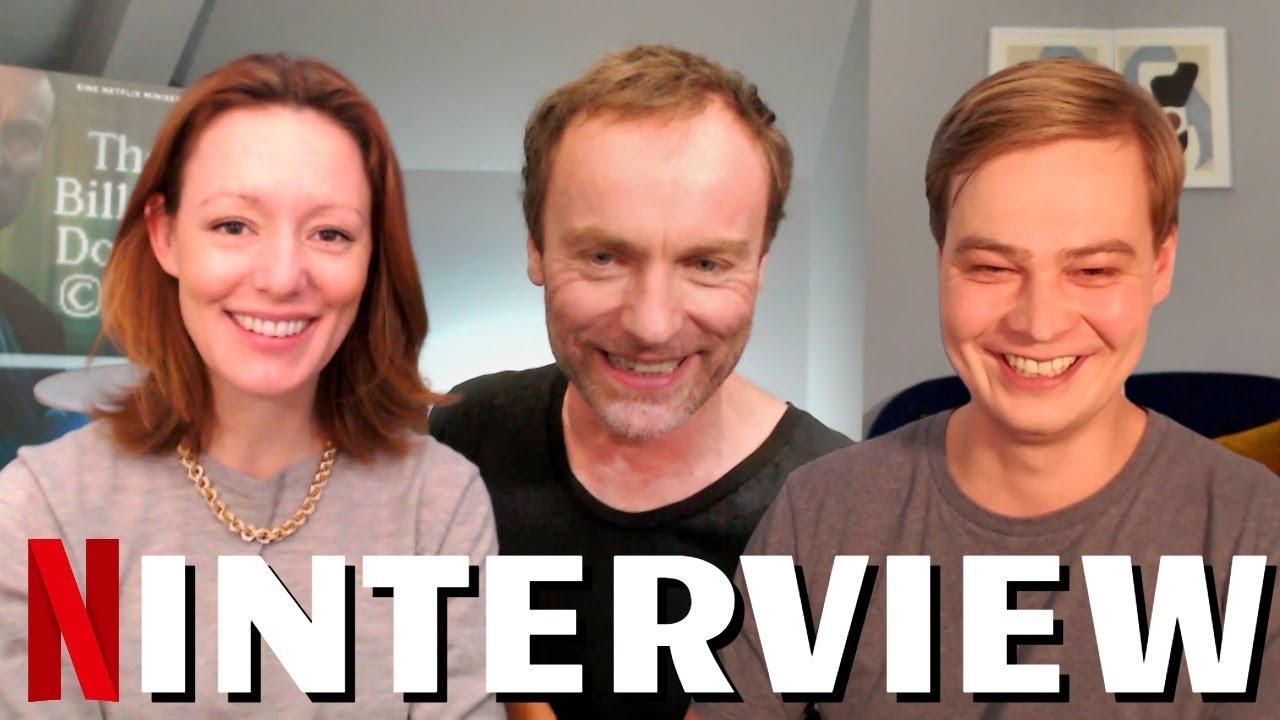 THE BILLION DOLLAR CODE Interview With Mark Waschke, Marius Ahrendt & Lavinia Wilson   Netflix