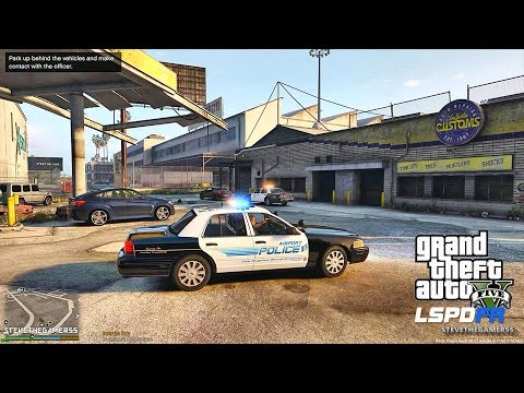 GTA 5 LSPDFR 0.3.1 - EPiSODE 143  - LET'S BE COPS -AIRPORT PATROL (GTA 5 PC POLICE MODS)