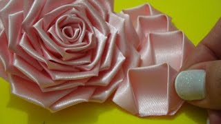 Flor de tecido – Parte 1 – Aprenda a fazer a PÉTALA dessa Rosa