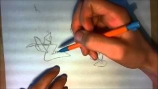 TUTORIAL GRAFFITI : techniques et bases du lettrage / Faire des lettres graff (debutant) [HD]