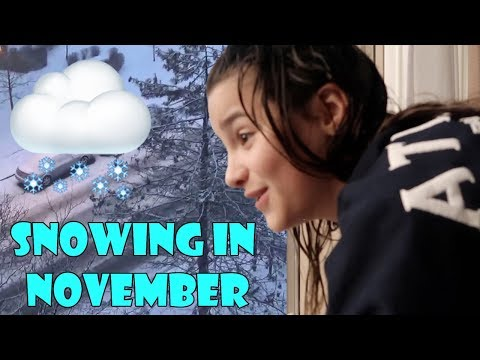Snowing in November 🌨 (WK 358.3) | Bratayley