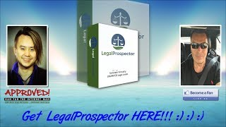 Legal Prospector Sales Video - get *BEST* Bonus and Review HERE!