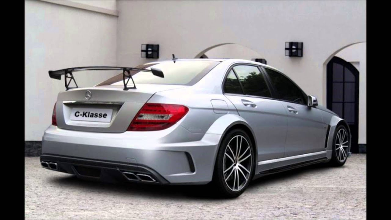mercedes c class w204 amg tuning body kit youtube. Black Bedroom Furniture Sets. Home Design Ideas