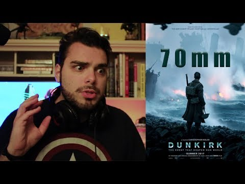 Dunkirk 70mm Format Review Vlog