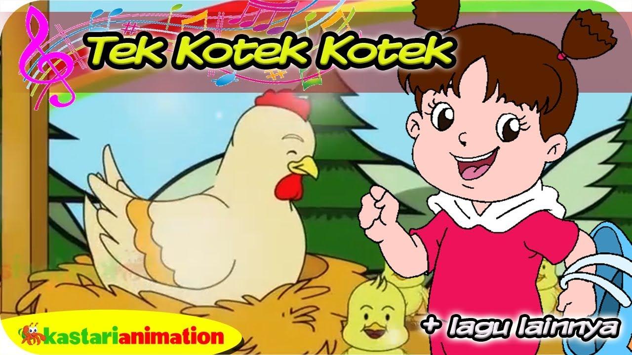 TEK KOTEK KOTEK | Diva Bernyanyi | Lagu Anak Indonesia | Kastari Animation Official