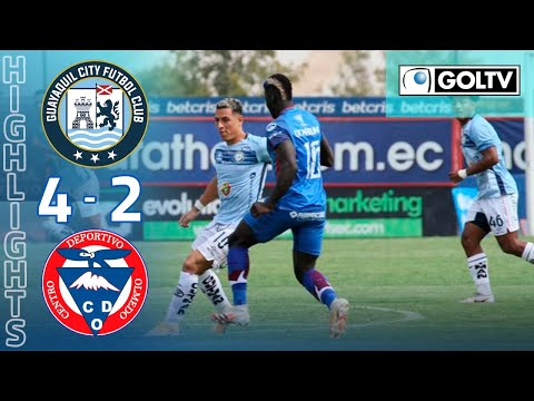 Guayaquil City Olmedo Goals And Highlights