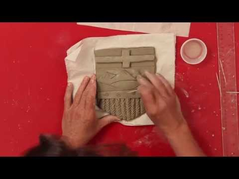 How to make the Alberta Provincial Shield with Non fired Clay