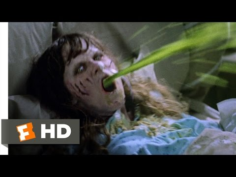 The Exorcist (2/5) Movie CLIP - Projectile...