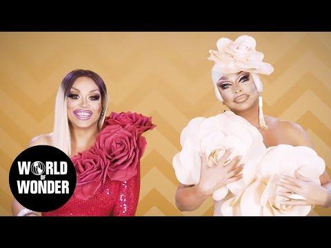 FASHION PHOTO RUVIEW: All Stars 3 Flower Power with Raven and Mariah Balenciaga