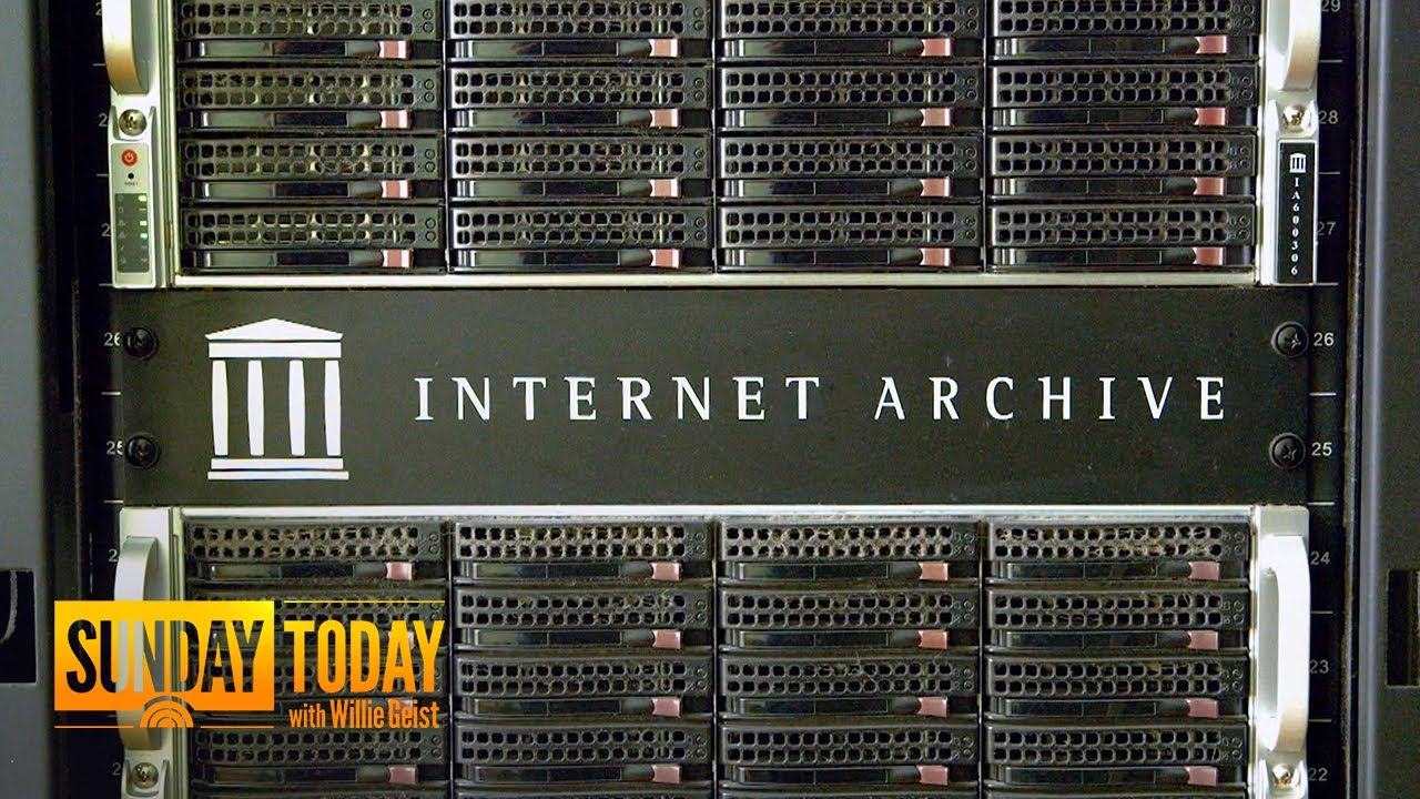 The Internet Archive wants to be a digital Library for everything