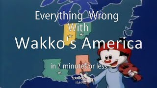 everything wrong with wakkos america
