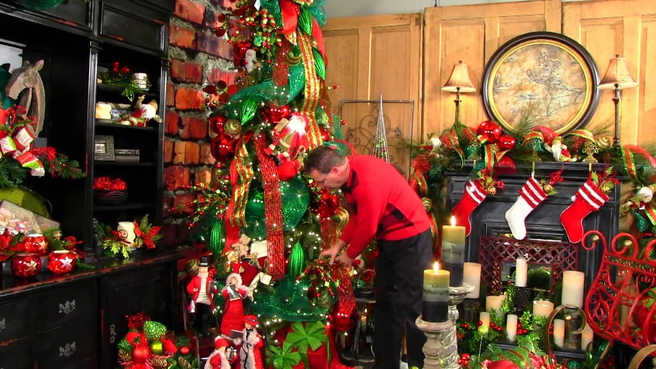 Christmas tree 2014 decorating trends -  Believe Christmas Tree 2013 Youtube