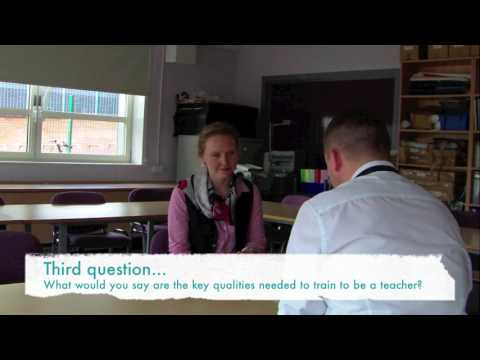 Teacher Training Interview at Heathcote School and Science College