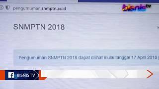 Hanya 18,9 % Siswa yang Lolos SNMPTN 2018