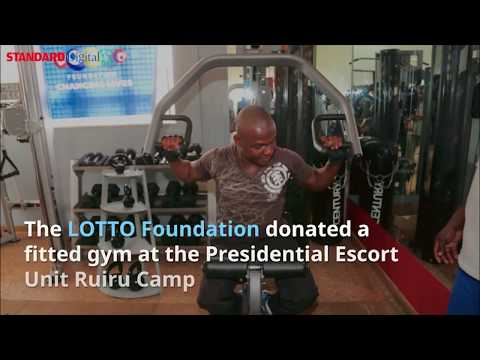 Kenyans react to the Police Force getting gym facilities