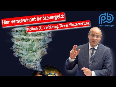 GroKo-Haushalt voller Lücken, Lügen, Unseriosiät und Ideologie – Boehringer spricht Klartext (84)
