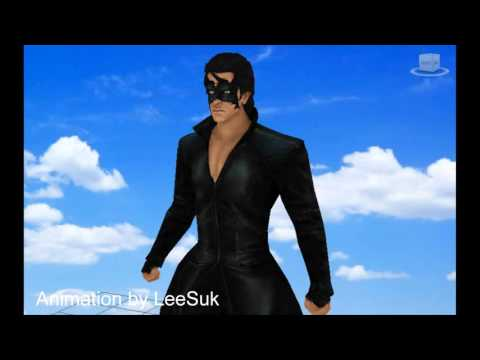 Krrish 3 - Model 3Ds Max & animation