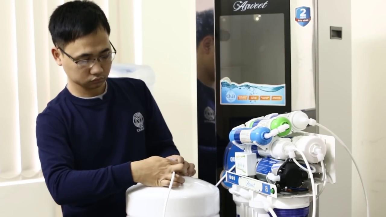 Hướng dẫn chi tiết lắp máy lọc nước RO – Có thể tự lắp đặt tại nhà