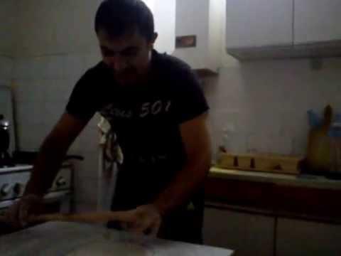 EVS in Association Pavel Satev Kocani Macedonia - EVS volunteer cooking