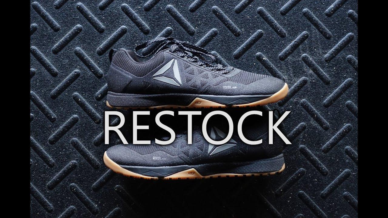 Reebok CF Black   Gum Nano 6.0 RESTOCK 11 10 - YouTube 966a7a385