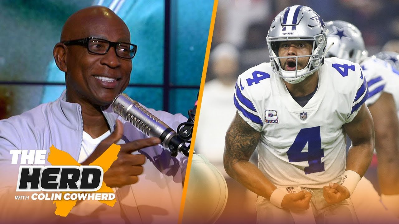 eric-dickerson-on-dak-getting-blame-for-cowboys-struggles-baker-mayfield-and-more-nfl-the-herd